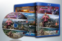 Far Cry 4 + Far Cry 3 + Far Cry 3: Blood Dragon (Blu-Ray)